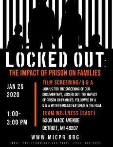 Locked Out Flyer